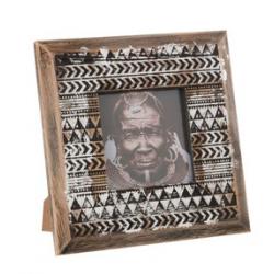 cadre photo africain bois...