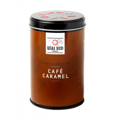 Café moulu aromatisé au...